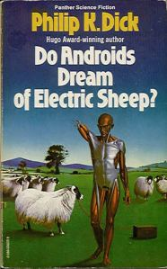 Makes it hard to believe that this story inspired Bladerunner. Yeah, the cover makes it seem quite lame.