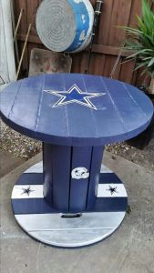 Another example in Dallas fans' creativity. Have to admire the color on this. Lovely.