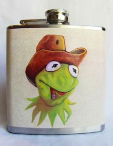 Man, what a way to show a great example Kermit. Being on something people drink whiskey from and smoking a cigar. Brilliant!