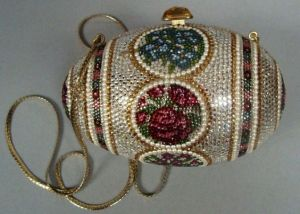 This one is in an ornate bead design. However, it wasn't made by Faberge though. But I like it anyway.