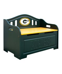 Hope it goes well with the green and yellow furniture in the room. May even double as a seat on certain occasions.