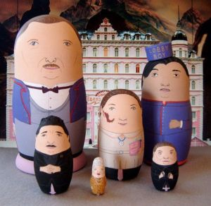 Depicts characters from the hit Wes Anderson movie that should've won the Oscar for Best Picture. Still, this is great.