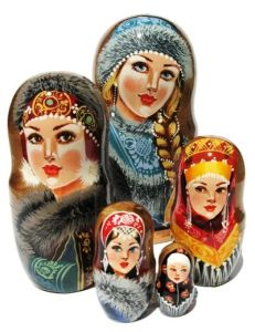Well, they seemed to dress quite fancy. But Russian winters can be quite brutally cold.
