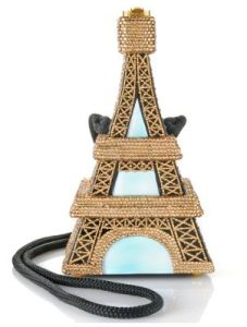 Then again, given Paris's prominence in fashion, many people might beg to differ. Still, the Eiffel Tower purse exist for those who want to know.