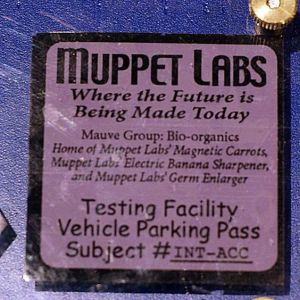 Yes, Muppet Labs where the future is being made today. And where the healthcare benefits are truly exceptional. Seriously, why do you think Beaker works there?