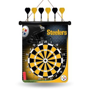 Enjoy hours playing a bar room game specifically designed for the designated drivers. Because you know what drunk Steeler fans would do in a game of darts.