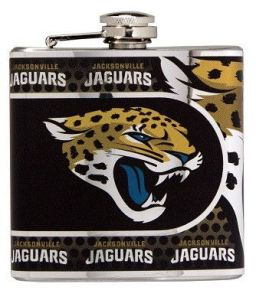 This handy flask is best for sneaking booze in the stadium as well as drowning your sorrows when the Jaguars lose. Of course, the latter happens quite often.