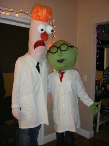 As you know, Dr. Bunsen Honeydew is well-meaning but often uses Beaker as a guinea pig in his experiments. It's a wonder Beaker doesn't end up in the emergency room.