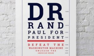 Because Rand Paul is an ophthalmologist, they have this. Too bad he didn't defeat the Washington machine.