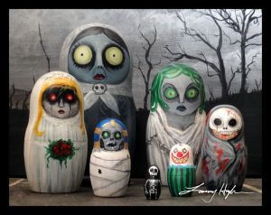 These seem like extras from The Nightmare Before Christmas. But I'll allow it. Great for those who love a good scare.