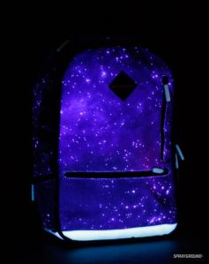 It's the kind of backpack that Neil Degrasse Tyson wished he could have when he was in school since he always admires the wonders of the universe. Too bad for him, this backpack wasn't available at the time.