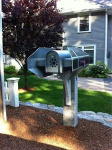 Yet, apparently, their mail seems be all up in Darth Vader's TIE. Oh, wait, could he live there?