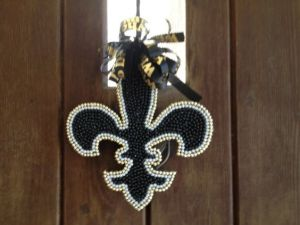 It's also great when it's used, for a Mardi Gras decoration, too. But you probably already knew that.