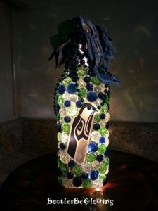 This is especially when they're in blue, white, navy blue, and light green. Love the ribbons on the top.