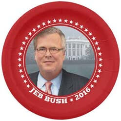 I bet these are overpriced since they have Jeb's face on them. Too bad the White House was only a dream for him in 2016.
