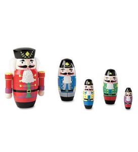 Doesn't exactly look like the one my family has. But as far as nesting doll Christmas decorations go, it will do.
