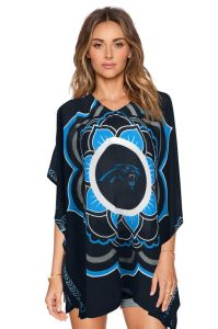 Sorry, but this a poncho. A Carolina Panthers poncho. And it looks pretty stupid if you wear it with shorts.