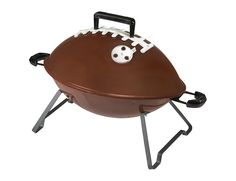Yes, I'm familiar with people grilling stuff up on game day. But does the grill need to be football shaped? Probably not.