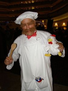You may not know this, but the Swedish Chef doesn't get a great impression in Sweden. Mostly because Swedes think he doesn't sound Swedish and get sick of being asked about him.