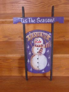 Well, in most Ravens households anyway. But I have to admit, the snowman is adorable.