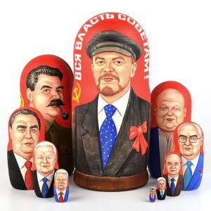Soviet and otherwise to get my drift, starting with Lenin. But Putin is included.