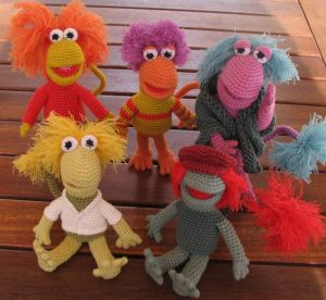May not be familiar with Fraggle Rock from the 1980s. But I know those who grew up with it will love these.