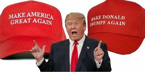 "Because it's a play on ""Make America Great Again,"" which John Oliver parodied on his show. And yes, these hats sold like wildfire."