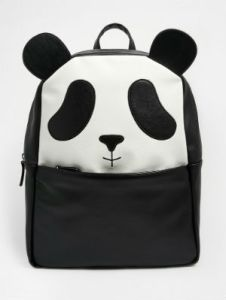 Contains the panda ears as well as the cute panda face. I'm positive people will adore this.