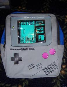 And once again, it features Tetris. No surprise. Still, the old Game Boys were in black and white and resembled this.