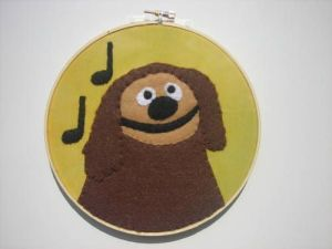 You know, Rowlf the Dog. Likeable enough but doesn't play as large a role in the Muppets as he used to.
