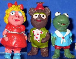 These little muppet babies are guaranteed to haunt your dreams. Also, why the hell is Fozzie dark? He's not.
