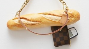 It's not as long as the usual baguette. But save for the straps and tag, it almost seems like the real thing.