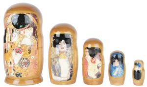 Klimt seems to have his way with colors, doesn't he? His kiss is the most famous.