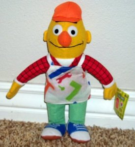 Sorry, but there's no way in hell I can see Bert in the construction business. He's a fussy, uptight neat freak with boring tastes and eccentric hobbies. I think Accountant Bert would make more sense.