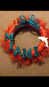 Or in sparkling letters anyway. Like the aqua colored bow on top. Lovely.
