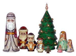 Then again, this might consist of more than one. But I really like the Christmas tree.