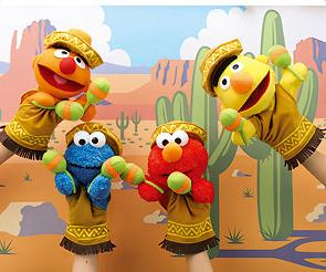Except they all seem to have maracas. And nobody knows how to play guitar. Then again, these toys are from Japan.