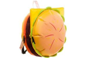 Yes, this is a cheeseburger backpack. Hope you don't carry it around where you'll find a lot of hungry people.