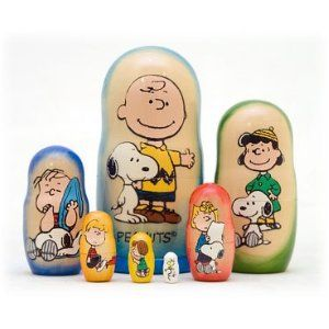 Well, it has Snoopy with his friends. Each one has a different color. Adorable.