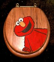 Yes, this is an adult Elmo toilet seat. To be fair, they have these for multiple Muppets on Ebay. Elmo just had the biggest picture.