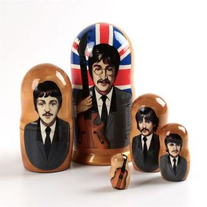 Yes, these are the Beatles possibly from 1967. Though they're not in their Sergeant Pepper gear at this point.