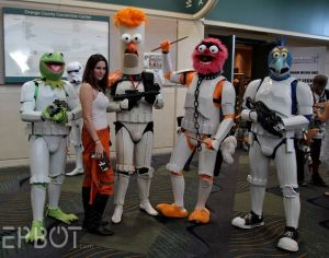 Well, there's Kermit, Beaker, Animal, and Gonzo. Are probably bad shots, which is perfect for the Galactic Empire.