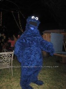 Because Cookie Monster is the last guy you'd want around a cookie table at a party. Seriously, he'll demolish it.