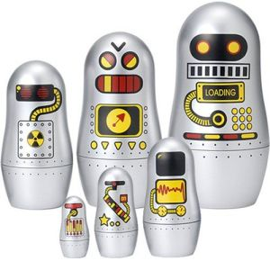 Each one has a different machine configuration. One may be radioactive.