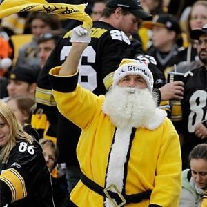 He even has a gold suit to show for it. Just see him wave the iconic Terrible Towel.