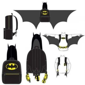 Yes, it's another Batman backpack. But this is in a more unusual shape than the last one. Also, there may be a Superman one, but using it tends to result in a lot of collateral damage.