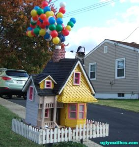 A lot of people seem to really like the Up house. Maybe because of the nice colors and balloons. Love it.