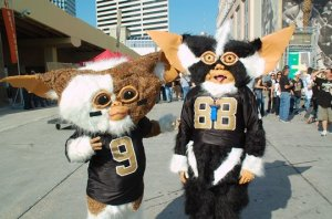Guess anyone in New Orleans doesn't have to worry about their electronics and appliances falling apart during football season on Sunday. Because these two will be watching the game.