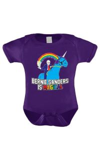 "From Refinery29: ""Dress your baby in this awesome onesie and tell bedtime stories about economic and social injustice."""