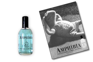Now having a fragrance for Miss Piggy makes sense. For Kermit, not so much. Also, is he sporting abs in the picture?
